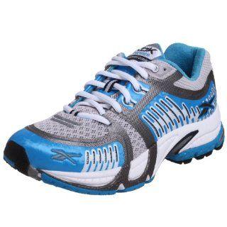 Premier SmoothFit Cushion Running Shoe,White/Blue/Black,9 M US Shoes