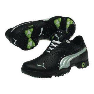 Puma Scramble Mens Golf Shoe   Black/Grey Violet/Bright