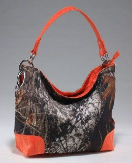 Licensed Mossy Oak Camo Camouflage Western Hobo Tote Purse