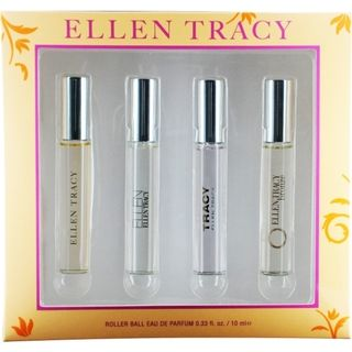 Ellen Tracy Variety Womens 4 Piece Fragrance Set