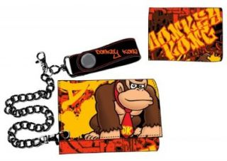 Donkey Kong Nintendo Wallet with Chain Nintendo Shoes