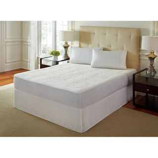 PureRest 0.5 inch Quilted Twin/Full size Memory Foam Mattress Pad