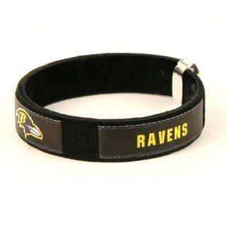 Baltimore Ravens NFL Fan Band Cuff Bracelet Sports