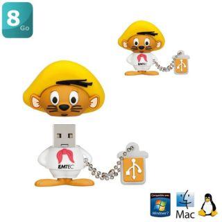EMTEC L102 Clé USB 8Go Speedy Gonzalez   Achat / Vente CLE USB EMTEC
