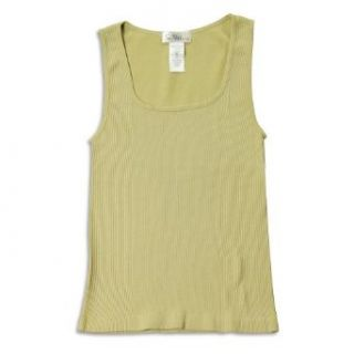 So Nikki   Girls Stretch Tank Top, Khaki 22887 onesize
