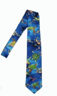 Hawaii Neckties, Sea Turtle Blue Clothing
