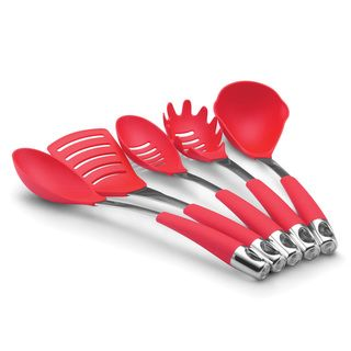 Circulon Red Five piece Kitchen Utensil Set