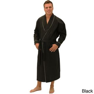 Alexander Del Rossa Mens Classic Cotton Bathrobe