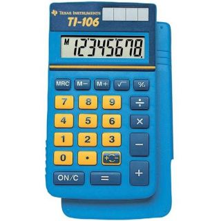 106   Achat / Vente CALCULATRICE Texas Instruments TI 106
