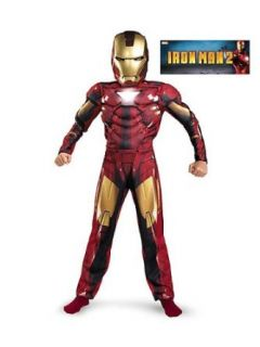 Costumes For All Occasions Dg11687K Iron Man Child M6