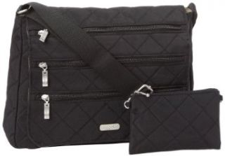 Baggallini Luggage Carry All Quilted Bag, Black, One Size