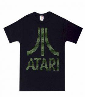 Atari   Bits and Bytes Binary Black T Shirt for men (Small