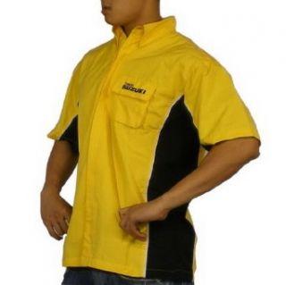 Mens Suzuki Athletic Button Down Racing Shirt (Size XXL