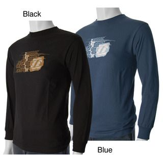 Jetpilot Mens Scratch Long sleeve Graphic Tee
