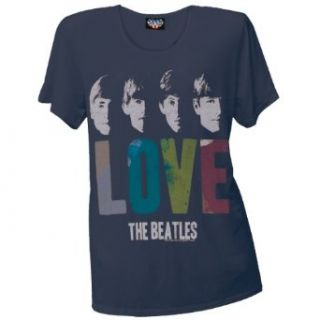 The Beatles   Love Juniors Boyfriend T Shirt Clothing