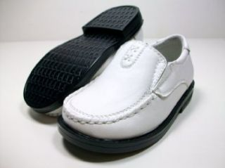 Boys White Loafer Dress Shoes Styled In Italy Conal By D Aldo Shoes