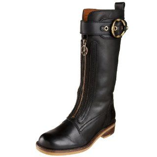 Lucky Brand Womens Amber Mid Calf Boot,Black,5 M US Shoes