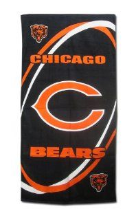 Chicago Bears Fiber Reactive Pool/Beach/Bath Towel (Team