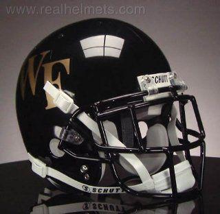 WAKE FOREST DEMON DEACONS Football Helmet Sports