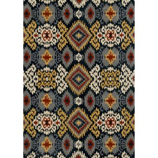 Hand tufted Arianna Midnight Wool Rug (710 x 110)