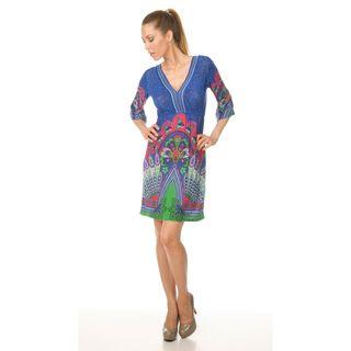 Venezia Peacock Dress