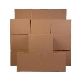 Large Corrugated cardboard 42 cubic feet Moving Boxes (Case of 24