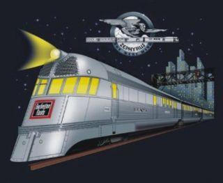 Pioneer Zephyr Railroad Train T Shirt Tee Shirt Clothing