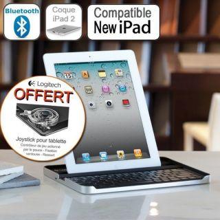 Accessoire 3 en 1 idéal pour iPad   Coque de protection en aluminium