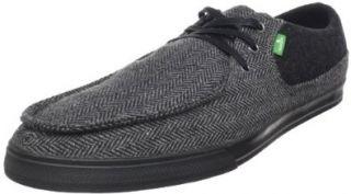Sanuk Mens Shunami Herringbone Oxford Shoes
