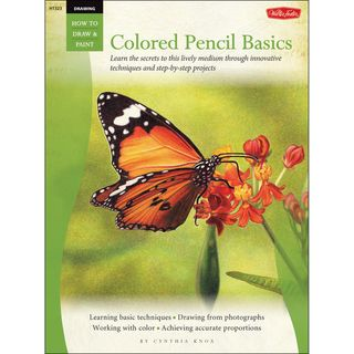 Walter Foster Creative Books Drawing Colored Pencil Basics