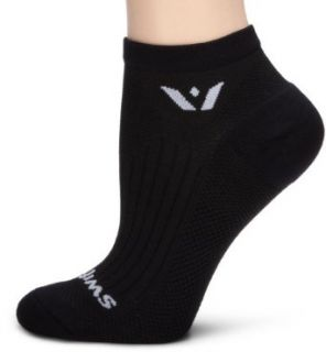 Swiftwick Performance Socks, Black, Large Clothing