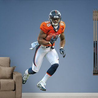 Denver Broncos Demaryius Thomas Fathead Vinyl Wall Graphic