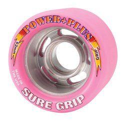 Sure Grip Power Plus Quad Wheel Pink