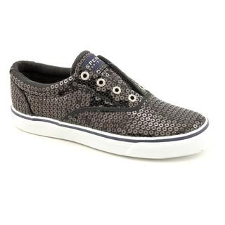 Sperry Top Sider Womens Striper Basic Textile Athletic Shoe