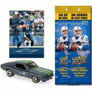 Seattle Seahawks 1967 Ford Mustang Fastback Die Cast with