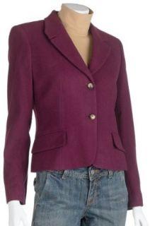 Harve Benard Womens Cashmere Blend 2 Button Jacket