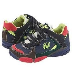 Naturino Sport 112 Marrone/ Rosso Athletic Shoes   Size 4 Infant