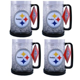 Pittsburgh Steelers Freezer Mugs (Set of 4)