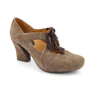 Earthies Womens Sarenza Too Regular Suede Dress Shoes