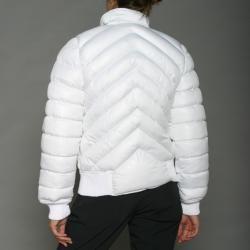 Lexen Womens White Puffer Jacket