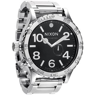 Nixon 51 30 Mens High polish Stainless Steel Watch