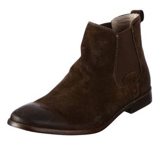 Steve Madden Mens Barstow Taupe Suede Boots FINAL SALE
