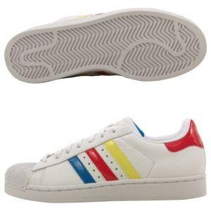 Adidas Womens Superstar II Athletic inspired Shoes