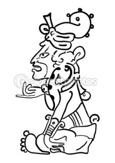 Vector Maya Image of the Deity  Vector Stock © Vasily Merkushev