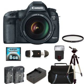 Canon EOS 5D Mark III Digital Camera Kit with Canon 24