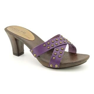 Miss Me? Womens Rowlena Leather Sandals (Size 6)