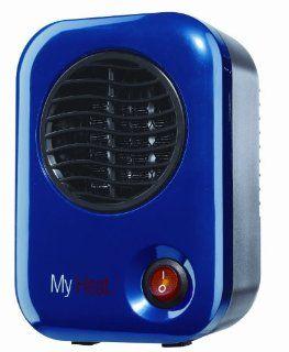 Lasko 102 My Heat Personal Ceramic Heater, Blue Home