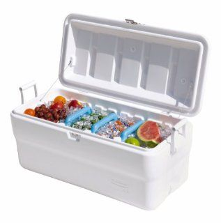 Rubbermaid 102 Quart Gott Marine Cooler Ice Chest Home