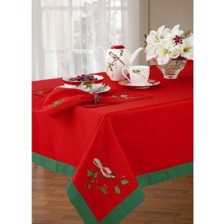Lenox Winter Song 60 Inch by 102 Inch Oblong/Rectangle