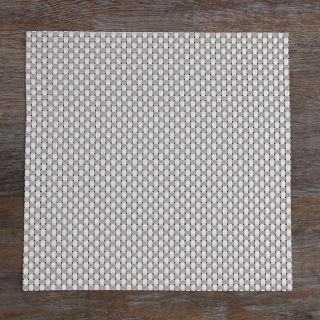 Heavy Weight Cross Weave Contemporary Woven Vinyl Placemat (Set of 4